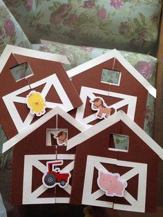 Convite tema fazendinha tamanho 9x6,5 com detalhe do fechamento em relevo no formato de bichinhos. <br> <br>Produzido com externo em papel color plus 180gr e interno (informações do convite) em papel linho, glossy ou couché 180gr.