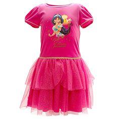Princess Jasmine Night Dress For Kids