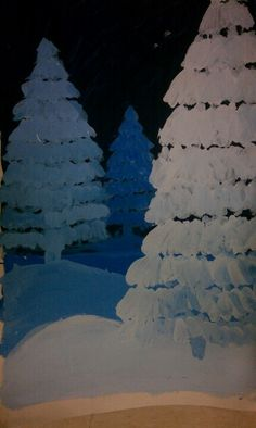 Ideas For Winter Landscape Art Lesson Shades Christmas Art Projects, Winter Art Projects, School Art Projects, Landscape Art Lessons, Doodle Drawing, Value In Art, Atelier D Art, 4th Grade Art, Art Lessons Elementary