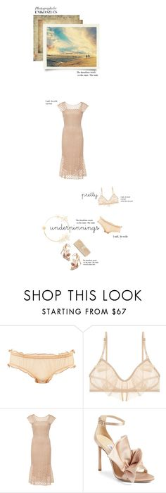 """pretty"" by paperdollsq ❤ liked on Polyvore featuring Only Hearts, LUISA BECCARIA, Jimmy Choo, J. Furmani, falala and prettyunderpinnings"