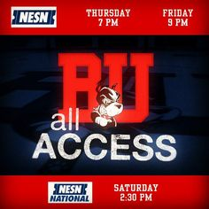 Make sure to watch our new show on @NESN! 1st episode of BU Terriers All Access premieres tonight at 7! Features on Red Hot Hockey captain Matt Grzelcyk and assistant coach Scott Young. #ProudToBU by terrierhockey