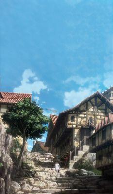 Anime Scenery Tumblr Anime Scenery Scenery Attack On Titan Anime
