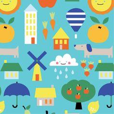 Small World Cloud9 Fabrics