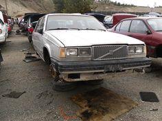Volvo 760 GLE in BC junkyard (from 1983)