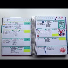I'm in love with the horizontal layout. Planner Layout, Planner Ideas, Smash Book Planner, Academic Planner, Lesson Planner, Bullet Journal, Planner Decorating, Erin Condren Life Planner, Planner Organization
