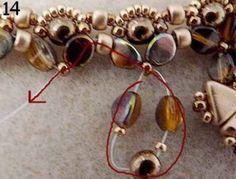 Collier Kheops®, Pinch et Rocailles par Puca - Perles & Co