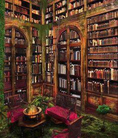 Verlaten bibliotheek