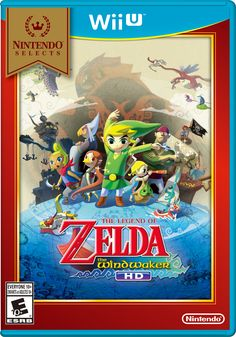 The WInd Waker HD now available in Nintendo Selects! #WiiU #TWWHD Playstation, Xbox 360, The Legend Of Zelda, Wind Waker, Multimedia, Zelda Wii, Videogames, Ever After High Games, Nintendo Wii U Games
