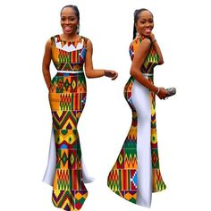 african dress styles This fabulous African clothing is all you need to stir a second look. Check out the standout kitenge fashion long dress that showcase an awesome innovation in African Prom Dresses, Latest African Fashion Dresses, African Dresses For Women, African Men Fashion, Africa Fashion, African Women, African Clothes, African Wedding Attire, African Attire