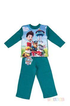 Pyjama+Pat'+Patrouille+bleu+vert