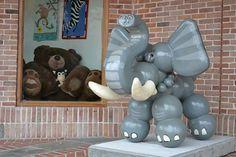 Elephant Dog  By Alex Beard  Location: Audubon Zoo Sponsored by Haydel's Bakery  www.la-spca.org