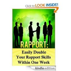 Rapport will help you communicate better with those in business and in close personal relationships. How do you use body language? Do you notice how your tone can have a big impact? All of these are covered, and networking strategies that can multiply the size of your network within a month.