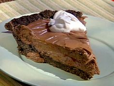 Emeril's Chocolate Cream Pie Recipe : Emeril Lagasse : Food Network. Rivers wants to try this.