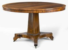 Antique English Regency Rosewood Center Table image 4