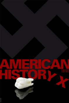 Movie Poster Cinema Poster Design American History X American History X, Seven Years In Tibet, Gorillas In The Mist, Cinema Posters, Movie Posters, Zorba The Greek, French Pop, Cult Movies, Arte Pop