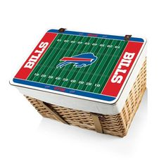NFL Collectibles - Canasta Grande ( Buffalo Bills ) Digital Print - Natural