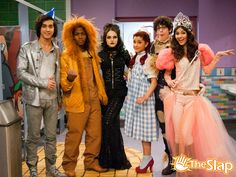 Wizard of Oz Characters | The cast of Victorious as Wizard of Oz characters