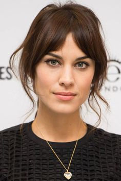 Click here to watch makeup artist Lisa Eldridge create Alexa Chung's signature makeup look—including her coveted cat eye—on Alexa herself.
