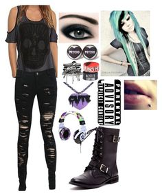 """""""OOTD"""" by skyler26xhs ❤ liked on Polyvore featuring ASOS, Max Factor and Sole Society"""