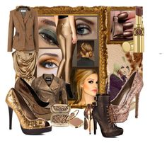 BRONZE by brittxxx on Polyvore featuring mode, Vivienne Westwood Anglomania, 2 Lips Too, Steve Madden, Blink, Charlotte Russe, Manolo Blahnik, Burberry, Yves Saint Laurent and Dolce&Gabbana