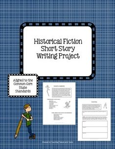 Complete historical fiction writing project that blends research and narrative writing into one.