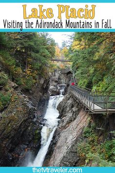 Looking for an amazing place to plan a fall foliage trip? There are lots of fun and beautiful things to do in Lake Placid in the fall season. Road Trip Activities, Fun Fall Activities, Best Places To Vacation, Vacation Ideas, Lake Placid Olympics, Olympic Sites, Lake Placid New York, Adirondacks Ny