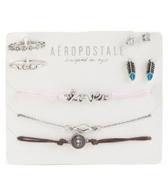 Feather Assorted Jewelry 7-Pack - Aéropostale®