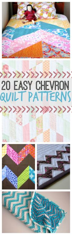 WOW 20 Easy Chevron Quilt Patterns | FaveQuilts.com