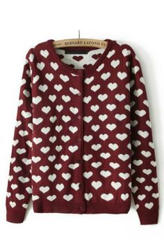 Double-sided printing jacquard sweater(1 color)_Sweaters_CLOTHING_Voguec Shop