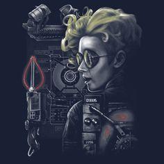 """Bustin Makes Me Feel Good"" by Punksthetic Jillian Holtzmann from Ghostbusters Ghostbusters Reboot, Ghostbusters 2016, Kate Mckinnon Ghostbusters, Nerdy Shirts, Leslie Jones, Ghost Busters, Afraid Of The Dark, I Feel Good, A Good Man"