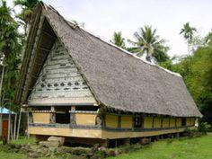 palau island - the men's house
