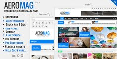 Best 2017 new AeroMag V1.1 - News & Magazine Responsive Blogger Template Free Download.Here you can find All time most popular Blogspot premium themes for free.
