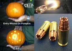 "WHY is this the ""hottest"" thing in the ammo world now? Stopping power? No.... Gel tests?? NO... The anility to defend yourself against a pumpkin? NO... The answer is OBVIOUS, even though few people will admit it.. THis shyt is WICKED COOL!!!   R.I.P. Rounds - The New Ammunition That Has Gun Owners Drooling"