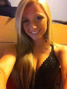 College girl selfie