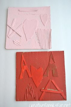 Use a variety of textures to make these monochromatic collages. This is such a fun art project for kids!