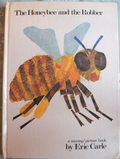 THE HONEYBEE & THE ROBBER ERIC CARLE POP UP MOVING PICTURE BOOK
