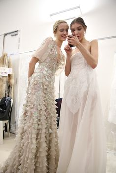 Backstage at Valentino Spring Couture 2013 - Slideshow - Runway, Fashion Week, Reviews and Slideshows - WWD.com