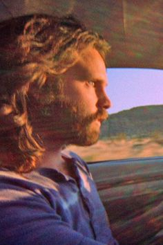 Jim Morrison /// A still from the film that he financed shortly before his death, which gives him credit for being the first Indie film producer in America. Talk about innovators. Now, imagine what he might have done had he stayed sober rather than going down the drain, literally.