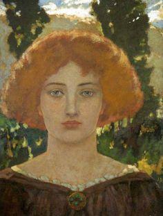 John Duncan 1866-1945   Scottish Symbolist painter