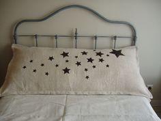 sterren op oud linnen mooi
