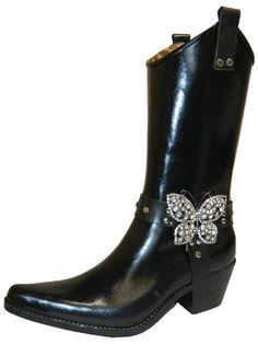 Nomad Women's Puddles Rain Boot,10 B(M) US, Black Butterfly Nomad,http://www.amazon.com/dp/B00GA65396/ref=cm_sw_r_pi_dp_0J3Tsb19XQ9M14V8