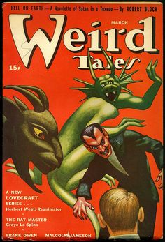 Hannes Bok -  Weird Tales, March 1942 by Aeron Alfrey, via Flickr