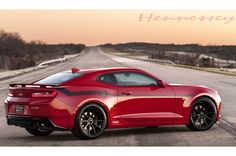 If you like the #Chevrolet #Camaro, then you'll love this car with over 200 MPH! Can you handle that speed? #MuscleCarMonday http://www.motortrend.com/news/watch-the-2016-hennessey-chevrolet-camaro-ss-ss-hit-202-mph/