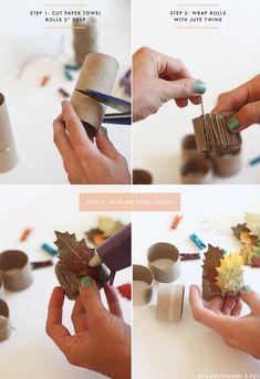 45+ Easy & Elegant DIY Napkin Ring Ideas - TastyMatters.com