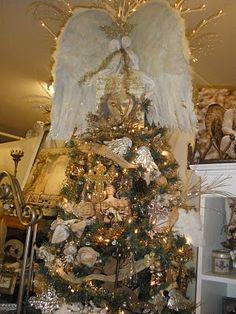 Angel Wings Tree Topper