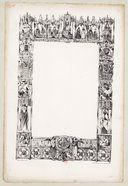 NATEUIL 1840  Moissac, [encadrement pour une page des Voyage Pittoresques...etc