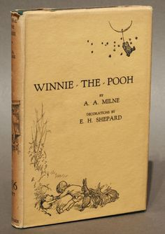 In October of 1926, British writer Alan Alexander Milne (1882-1956), published Winnie the Pooh.