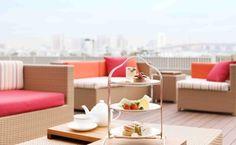 台場:ホテル日航東京 ベランダ