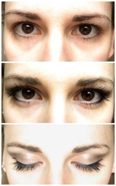 Eye makeup for hooded eyes- I just realized what this is, and that I have it. Interesting.