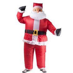 Christmas Air Powered Santa Costume